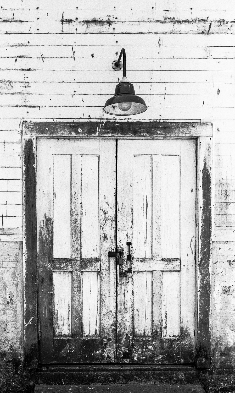 Door at Alcatraz Island