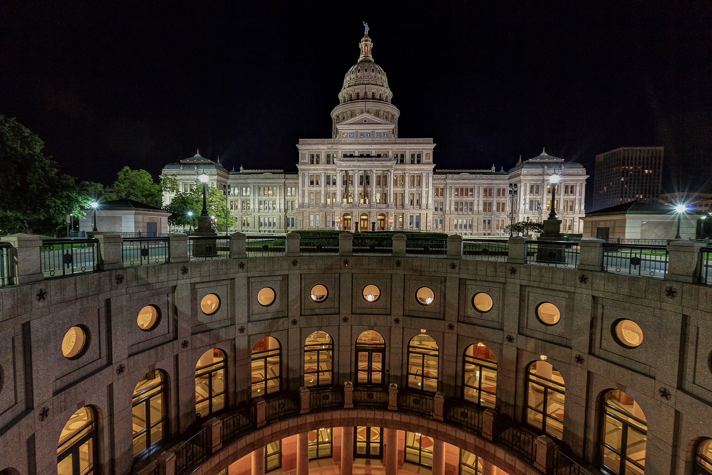 Texas State Capitol - Patio Area