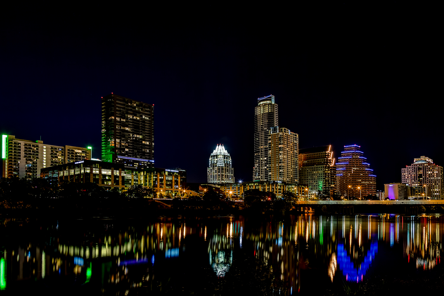 Austin Night Skyline