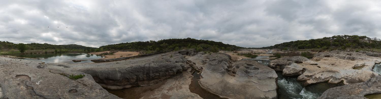 Pedernales Falls Panorama