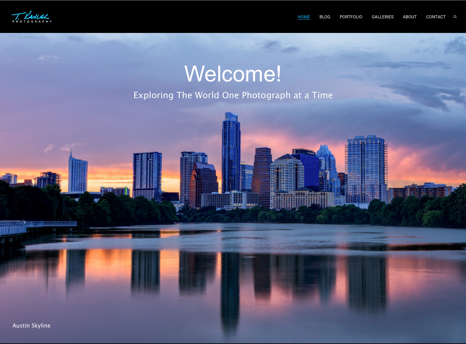 T. Kahler Photography Website