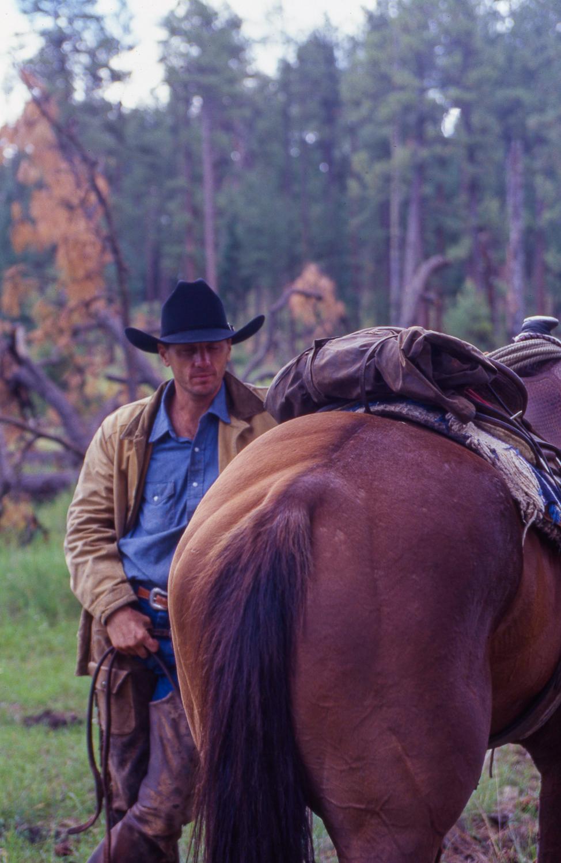 Gila Wilderness - Trail Boss & Horse