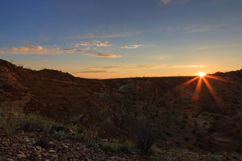 Big Bend NP Sunset