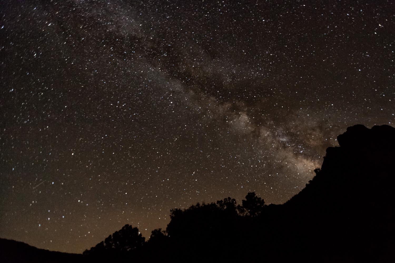 Big Bend NP - Casa Grande Night Sky