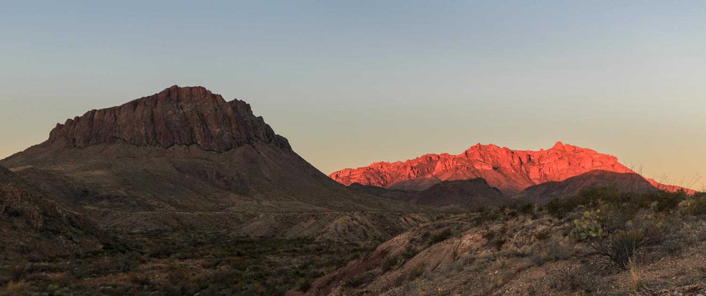 BBNP - Glen Springs Road Sunrise