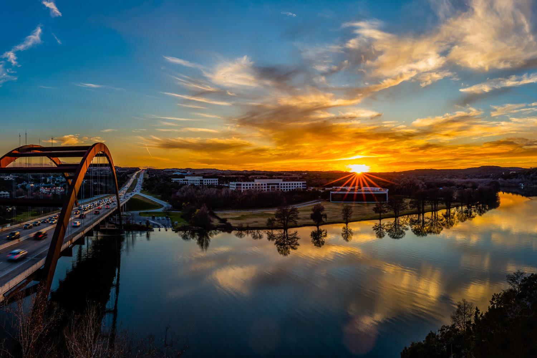 Pennybacker Bridge - Colorado River