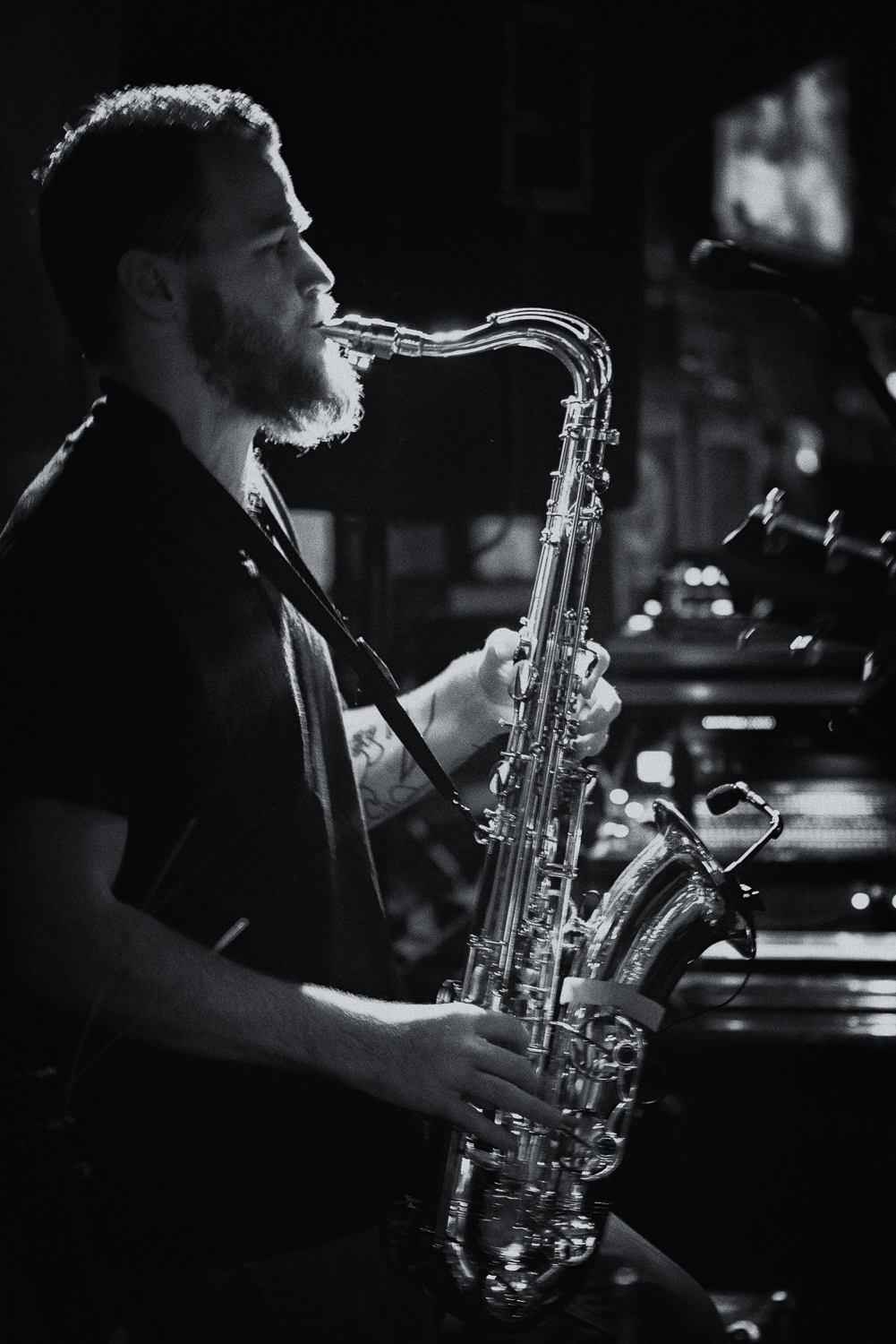 Austin Live Music - Sax Player