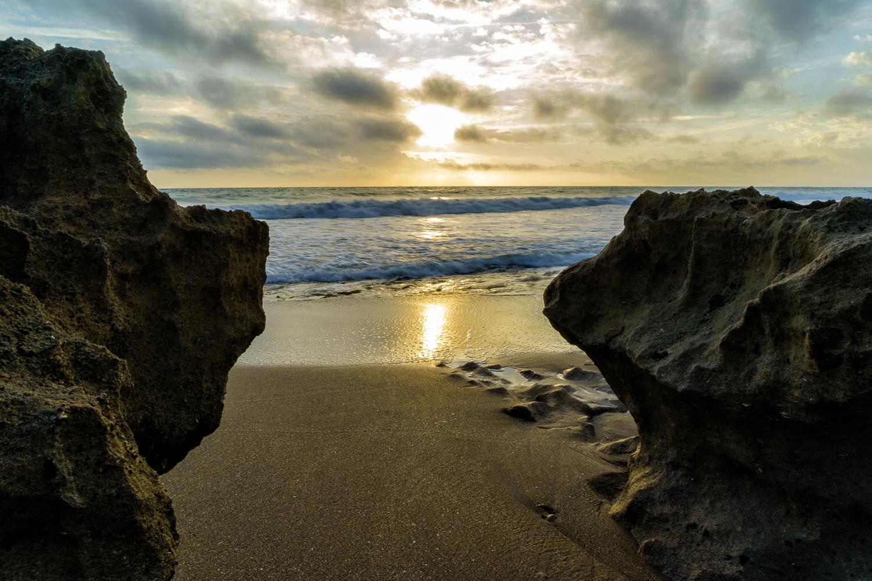 Stuart Rocks Beach Sunrise