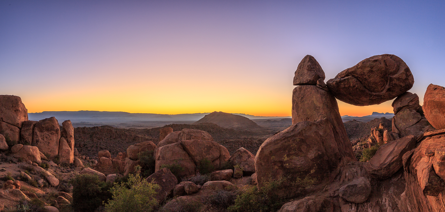 BBNP - Balanced Rock Panorama