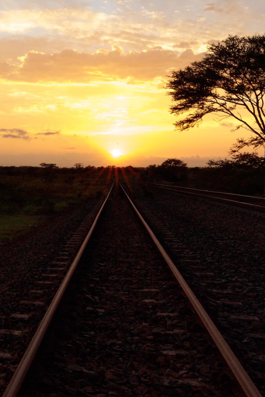 Zulu Railway Sunrise