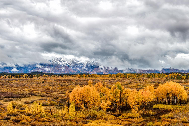 Teton Mountain Range Vista