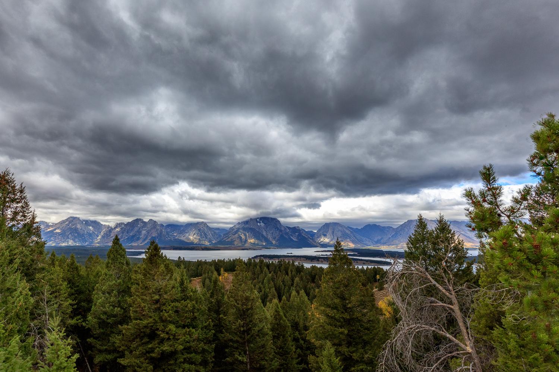 Cloudy Tetons