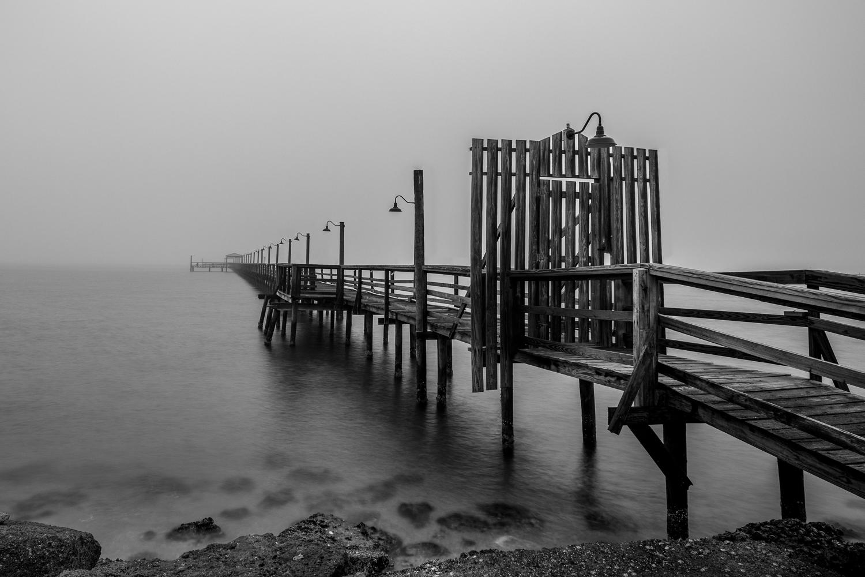 Foggy Fulton Pier