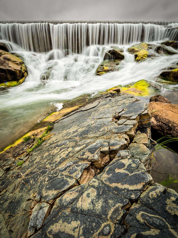 Llano Spillway Rocks