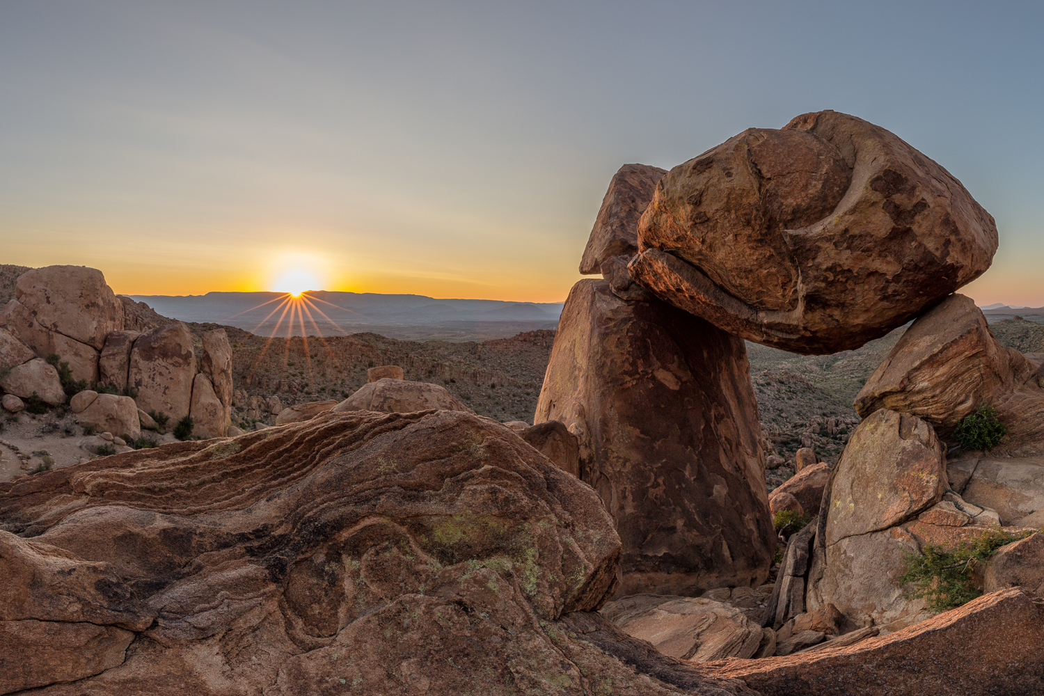 Balanced Rock Sunrise