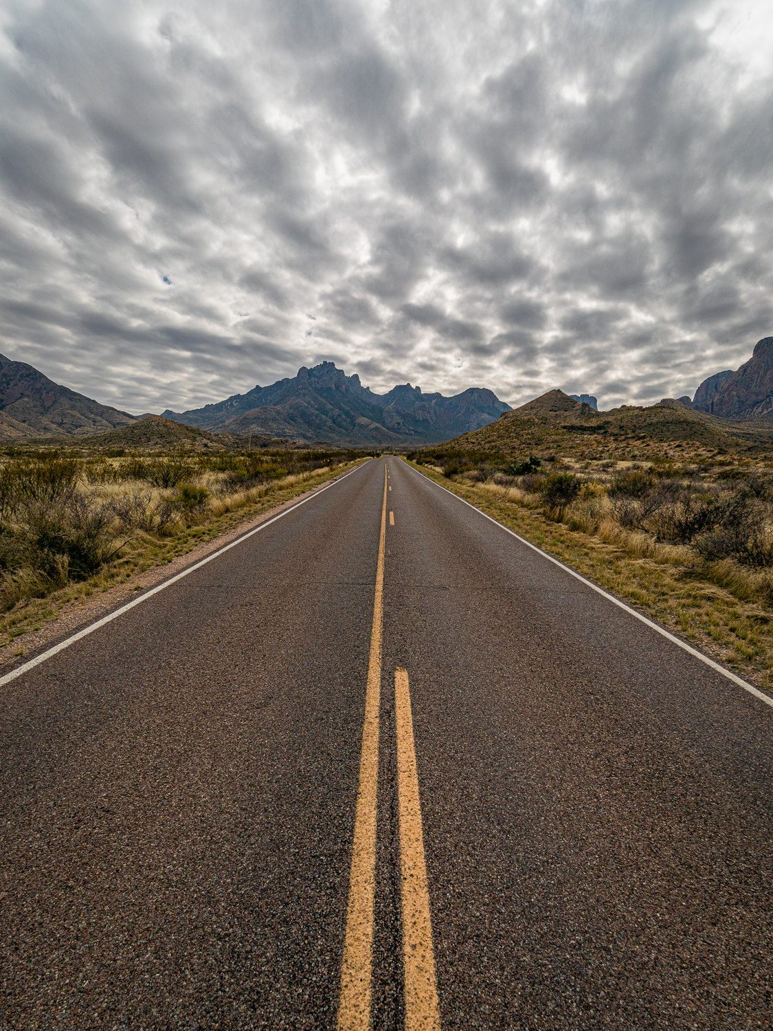 On The Road to The Chisos